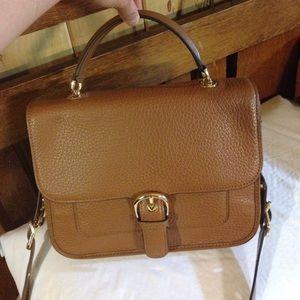 Michael Kors Brown Pebble Leather Bag