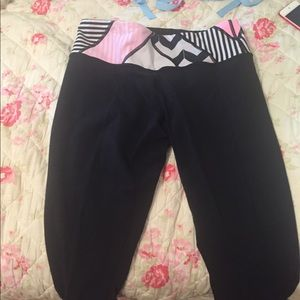 Lululemon crop yoga pants