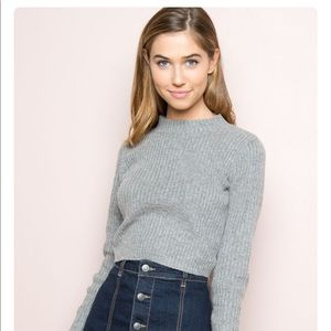 Brandy Melville Brett crop sweater
