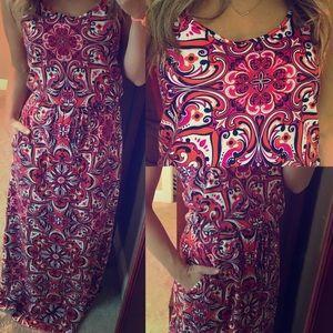 NWT banana republic maxi dress drawstring pockets