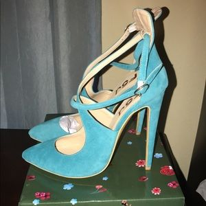 Shoes - ❌❌sold❌❌Turquoise heels