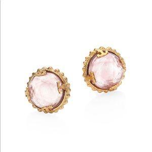 ❗️LAST ONE❗️🌿🌿Tory Burch crystal stud earrings