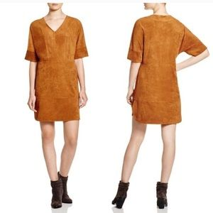 Suede Vince Camuto Dress - Beautiful Camel color!