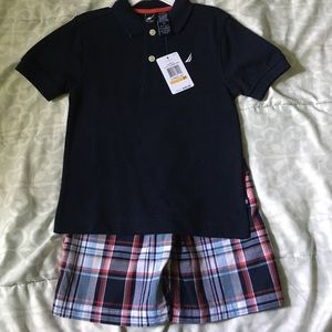 Nautica boy outfit
