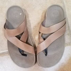 a9de575bc9db FitFlop Shoes - FitFlop▫ Platform Leather Sandal + Arch Support ▫6