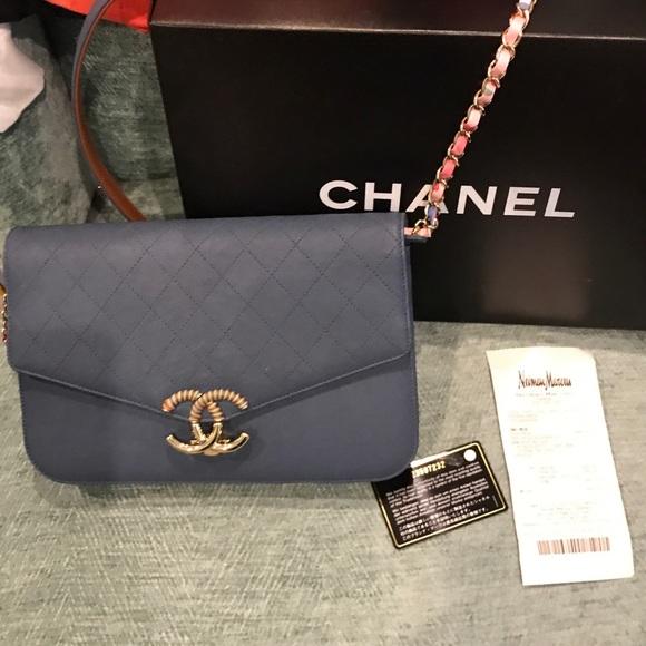 854d53c4c6e0 CHANEL Handbags - BEAUTIFUL CHANEL 2017 flapbag nubuck grained