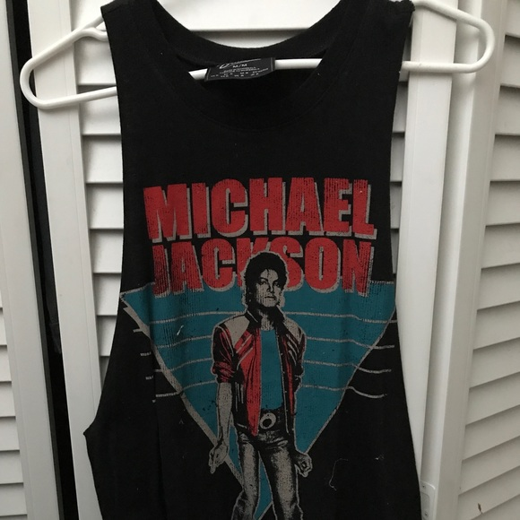 0b6ec74a Forever 21 Tops | A Michael Jackson Muscle Tee | Poshmark
