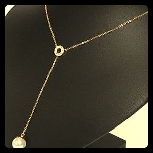 NWOT Kate Spade Y necklace