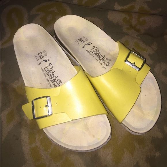 Ladies Birkis Birkenstock sandals slides Sz 38 7 68a83842cd1