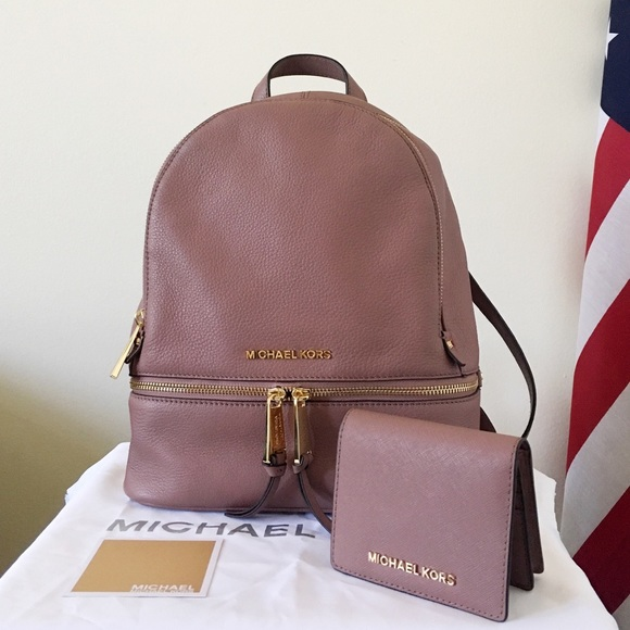1742255731e1 Michael Kors Dusty Rose Backpack With Wallet. M_599b641a41b4e041a8011692
