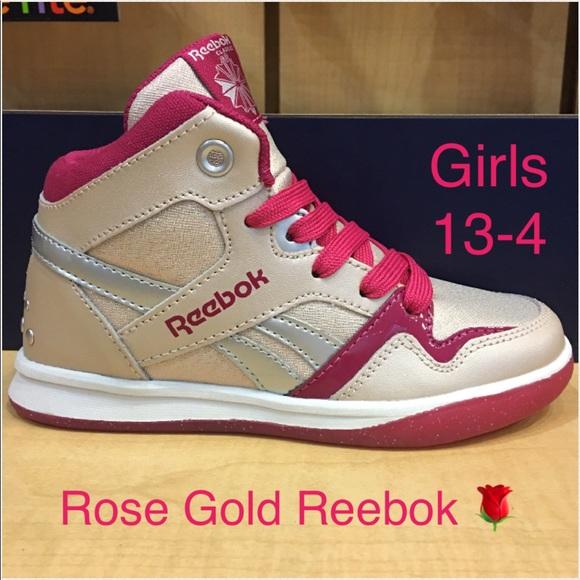 reebok girls sneakers