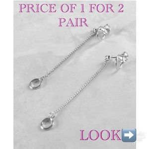 Jewelry - DANGLE DROP OR MINI GLAM EARRINGS