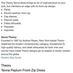 Theory Dresses - Theory LBD