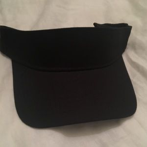 Accessories - Black tennis visors