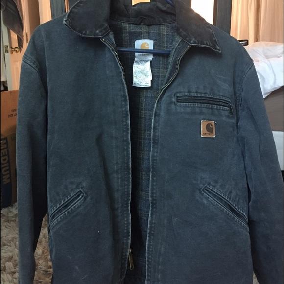 31622265 Carhartt sandstone Detroit jacket / blanket lined