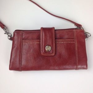 Red Relic Wallet Purse