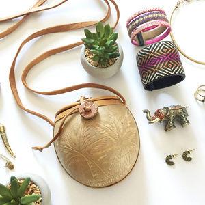 Handbags - Coconut Shell Crossbody from Barbados