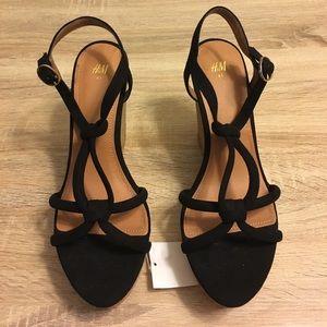 db3543bb48 H&M Shoes | Hm Wedge Sandals | Poshmark