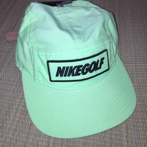 cafded75c4b New Neon Nike Dri fit Golf Hat vintage style
