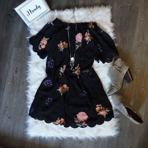 Dresses & Skirts - Need gone! ✨HP✨Off The Shoulder Floral Dress