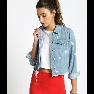 Jackets & Blazers - Embroidered Jean Jacket