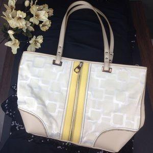 Nine West handbag with fashion zipper