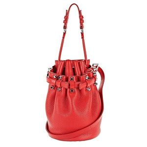 Alexander Wang Small Diego Bag - Cult Red Rhodium
