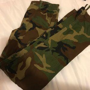 Pants - Army cargo pants