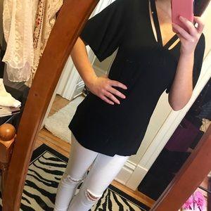 3 Dots Dressy Blouse! Size Mdm!