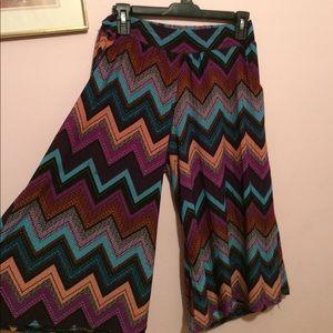 Other - Silky soft chevron skirt pants