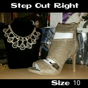 WEEKEND SALE Size 10 A Touch of Glitter