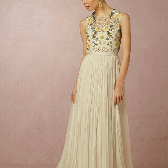 Anthropologie Wedding Dress