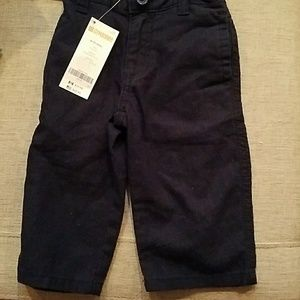 NWT Gymboree Navy Pants  Size 6-12 months