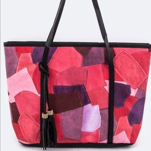 Handbags - !! 👜😍 Coral Leather Tote! 👜😍