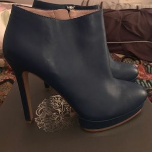 Vince Camuto Shoes - Vince Camino Blue Ankle Boots