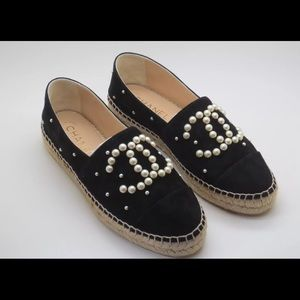 Shoes - Chanel Blck Espadrilles TEXT ME NOW (206) 485-4334