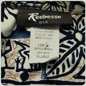 Reebesse USA Shirts - Men's Reebesse USA Hawaiian Shirt Size XL