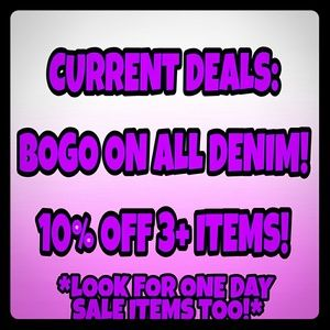 💥Current Deals!💥 LOOK 4 OUT FOR 1 DAY SALES!
