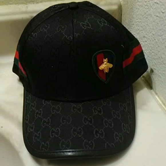 Gucci Other - Black Gucci styled Hat bee 3ee7cdda0b2f