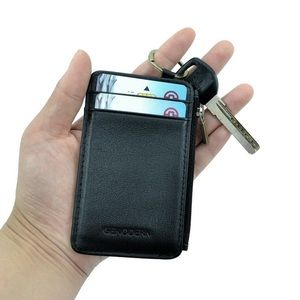 Other - GENODERN Slim Card Holder with Key Coin Pocket