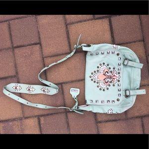Bridget Shuster studded leather bag!