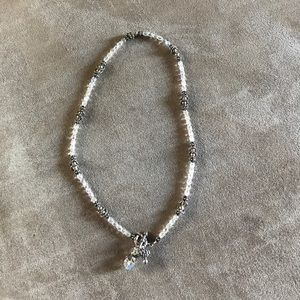 Jewelry - Make an offer. Beautiful crystal silver necklace