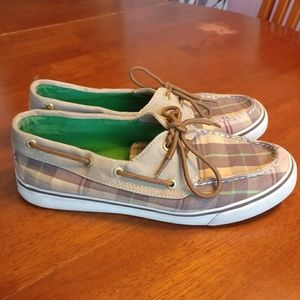 Sperry Top-Sider Plaid Loafer Shoes