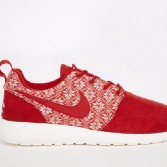 67d1a507b541f NIKE Custom ROSHE ONE Men Women Sneakers Red. Listing Price   50