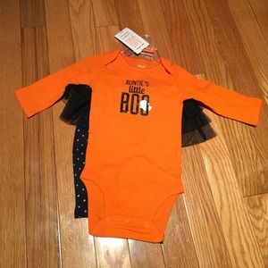 Carters 2pc aunties little boo sz 3mo NWT