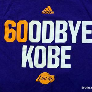 Adidas Shirts - Adidas Goodbye Kobe - 60OD Bye Kobe T-Shirt 60 Pt 52e53b912