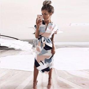 Dresses & Skirts - Midi dress in 4 colors DR108*
