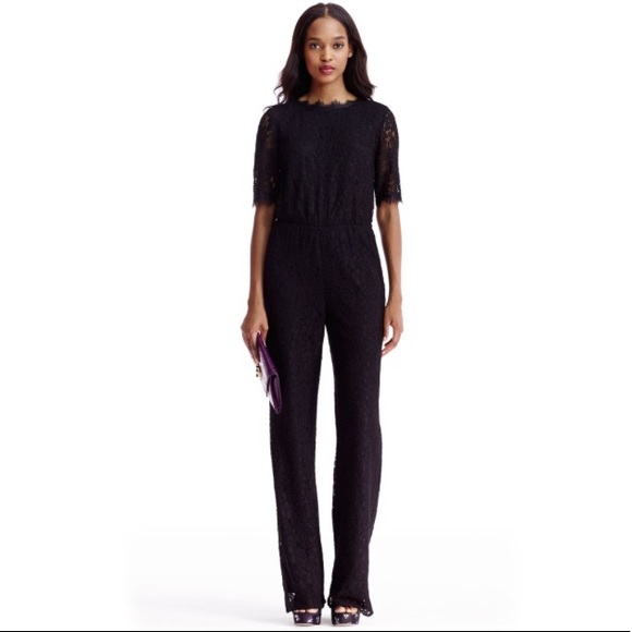 9de428e6b3f7 Diane Von Furstenberg Pants - DVF Lace Jumpsuit