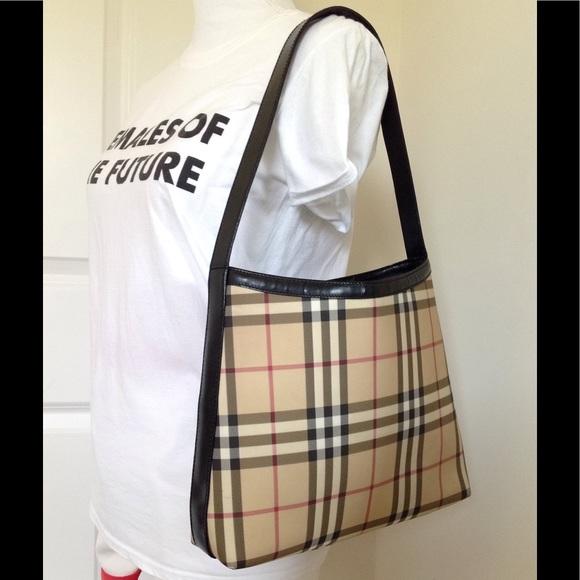 4caf0827c59c Burberry Handbags - Authentic Burberry nova check shoulder bag