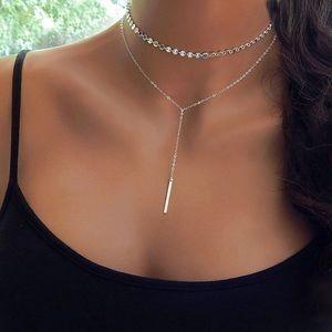 2/$25✯ Alice Long Bar Choker Necklace ✯